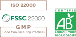 Certifications iso 22000 - FSSC 22000 - Agriculture Biologique